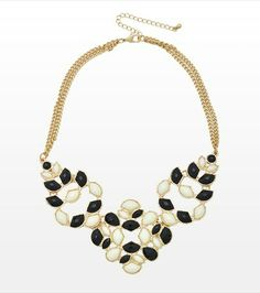 #DYNHOLIDAY Make a fashion statement with this bold necklace! Perfect for pairing with you little black dress.