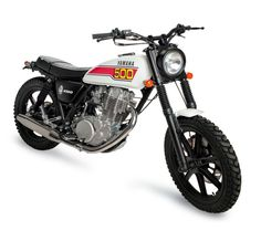 Yamaha SR500, make that all black and we're good to go