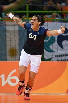 Alexandra Lacrabère - Handball - France - JO 2016