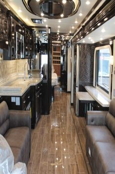 These 11 stunning luxury RVs are nicer than most full-sized homes  #luxuriousmotorhome #motorhome #beautifulhome #homeremedy #homerenovation #forthehome #LED #LEDlighting