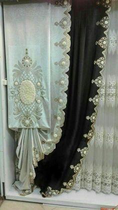 Фотография Curtains And Draperies, Elegant Curtains, Home Curtains, Room Darkening Curtains, Window Curtains, Curtain Designs For Bedroom, Latest False Ceiling Designs, Curtain Styles, Pretty Bedroom
