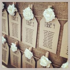 Details about Rustic/Shabby Chic Wedding Table Seating Plan Tags and/or header Shabby Chic Wedding Decor, Rustic Shabby Chic, Shabby Vintage, Rustic Wedding, Trendy Wedding, Perfect Wedding, Table Seating Chart, Wedding Table Seating, Wedding Table Decorations