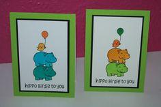 Børne fødselsdags kort