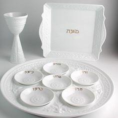 Bernardaud Louvre Judaica Seder Plate