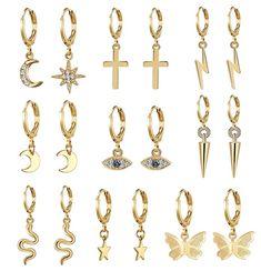 Butterfly Earrings, Butterfly Pendant, Date, Fashion Earrings, Women's Earrings, Silver Stars, Jewelry Gifts, Jewellery, Jewelry Shop