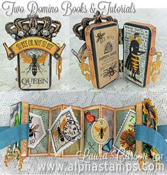 Altoid tin? Alpha Stamps News » 4 Bee-Themed Projects by Laura Carson (And a Bee-Themed Giveaway!)