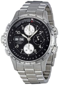 Hamilton Men's H77616133 Khaki X-Wind Automatic Watch: Watches: Amazon.com
