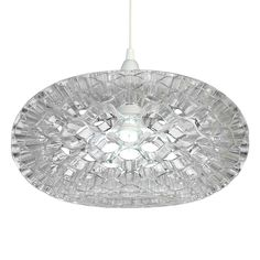 Russell Lowe Honeycomb Pendentif Light Shade, Clear | Achica