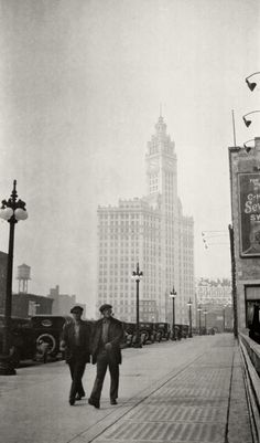 lawrence hensil godman · the wrigley building, north michigan ave., chicago circa 1921
