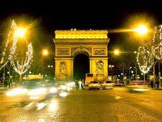 Arc De Triomphe. places-i-want-to-visit