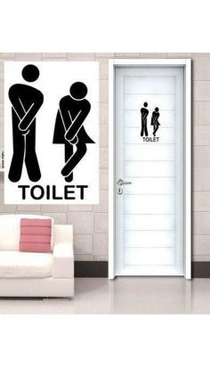 Funny Toilet Wall Decal | Sarcastic Me
