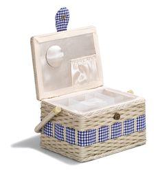 Sewing basket Country M | Nähkorb Landhaus M