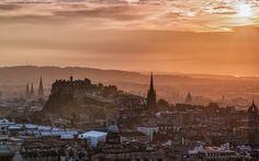 Beautiful Edinburgh in Edinburgh, United Kingdom. August 20 at 1:00pm · Edinburgh Skyline during a spectacular sunset earlier this week from Arthur's Seat. ~Neil