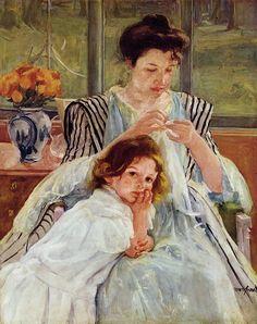 Mary Cassatt For Kids