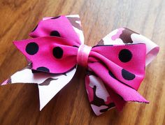 SALE, Stocking Stuffer, Black Friday, Pink bow, Camouflage bow, boutique bow, hair bow, alligator clip, military hairbow, Cyber Monday