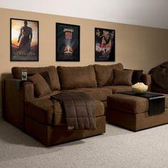 I Love My Lovesac Sactional Herringbone Gray Home