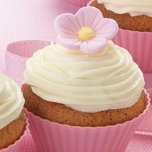 Vanilla Cupcakes with Buttercream Icing - the 'go to' cupcakes from Chelsea Sugar.