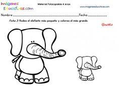 Cuadernillo complementario para 4 años, Educación Preescolar (3)