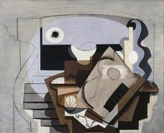 Still Life - 1927. Painting by Louis Marcoussis.