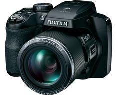 Fujifilm Digitalkamera FinePix S9400W 16.2 Mio. Pixel Opt. Zoom: 50 x Schwarz Full HD Video, WiFi, E