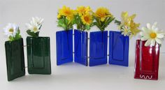 Pocket Vases-- Gallery. Can't wait for the big kiln to get here.