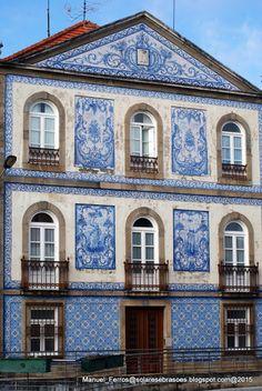 Solares e Brasões: Aveiro. - Casa do Visconde da Granja, Aveiro, Portugal.
