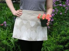 gardening apron how to