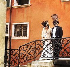 Beautiful BERTA bride doing Venice <3