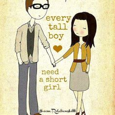 Food and Love Sayings   cute, quotes, sayings, love, tall boy, short girl on favimages