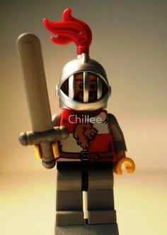 LEGO® Kingdoms 'Lion Knight Quarters' Minifigure