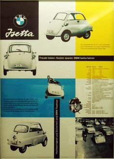 BMW Isetta advertising '50s