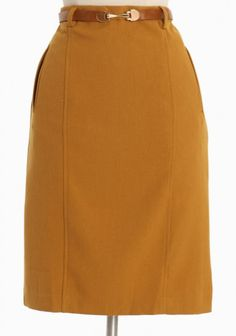 $39.99 willow pointe belted skirt (for outfit #1)