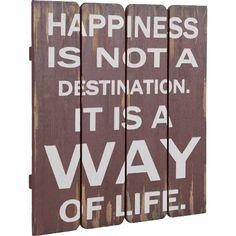 Süße Wanddekoration ♥ab 19,90€♥ Hier kaufen: http://stylefru.it/s786485 #quotes #happiness