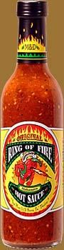 """Ring of Fire Habanero Hot Sauce """"Original"""" - Mike and Diane's Gourmet Kitchen"""