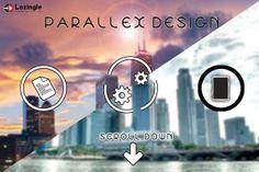 #WebDevelopment has a new face- Parallax Design. Exclusive: http://lozingle.com/blog/lets-talk-about-parallax-design/