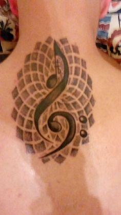 Love my music tattoo