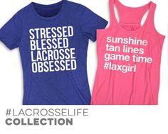 Girls Lacrosse LacrosseLife Collection #lacross