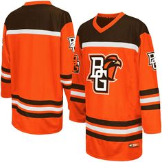 Bowling Green St. Falcons Colosseum Youth Hockey Jersey - Orange - $49.99