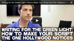 #Writing for the Green Light: How to Make Your #Script the One Hollywood Notices by #Author Scott Kirkpatrick via http://filmcourage.com  For more videos, please visit https://www.youtube.com/user/filmcourage  #filmandtelevision #entertainmentindustry #film #screenwritingtips #screenwriting101 #screenplay