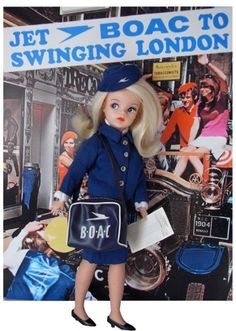 Vintage Air Hostess Dolls — The World of Kitsch Vintage Toys 1960s, Vintage Air, Vintage Dolls, 1960s Toys, Vintage Vibes, Vintage Style, 1970s, Vintage Fashion, Museum Of Childhood