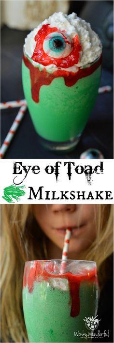 Spooky yum milkshake