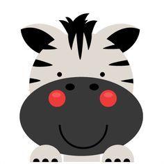 Peeking Zebra SVG scrapbook cut file cute clipart files for silhouette cricut pazzles free svgs free svg cuts cute cut files Party Animals, Jungle Animals, Animal Party, Cute Animals, Safari Party, Safari Theme, Quilt Baby, Jungle Theme Birthday, Art Watercolor