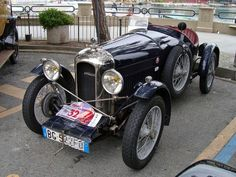 1929 Amilcar  GC SS