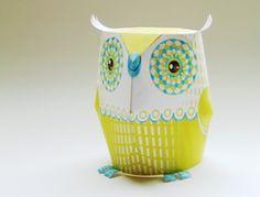 3D owl decorations