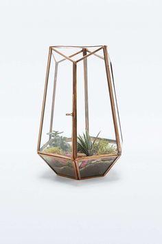 Urban Grow – Terrarium aus Kupfer mit offener Oberseite - Urban Outfitter - besorgt Irka