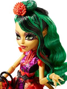 Monster High® Gloom and Bloom™ Jinafire Long™ Doll - Shop Monster High Doll Accessories, Playsets & Toys   Monster High