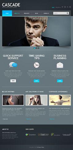 Web & UI   Template 43971 - Cascade Business Joomla Template