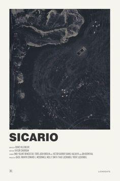 Andrew Sebastian Kwan : Sicario alternative movie poster Visit my Store