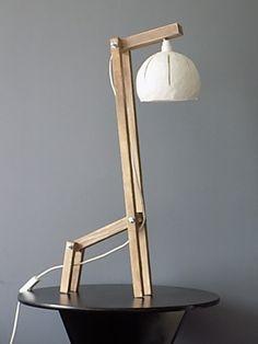 """Lampe de table """"Small Giraffe"""" en bois"""