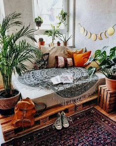 50 Boho Inspired Home Decor Plans Boho Bedroom Boho decor Home Inspired Plans Boho Room, Zen Room, Bohemian Bedroom Decor, Hippie House Decor, Bohemian Dorm Rooms, Hippie Living Room, Bohemian Furniture, Decor Room, Hippie Apartment Decor